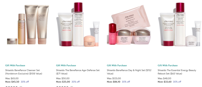 Shiseido Beauty Sale Discount Perfume Makeup More Deals Nordstrom
