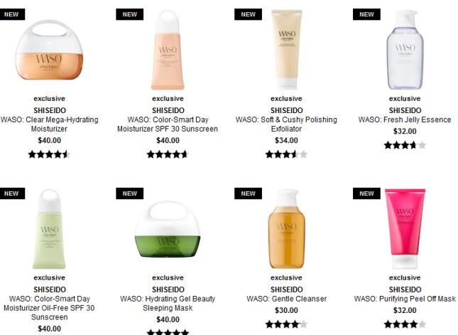 shiseido waso Sephora
