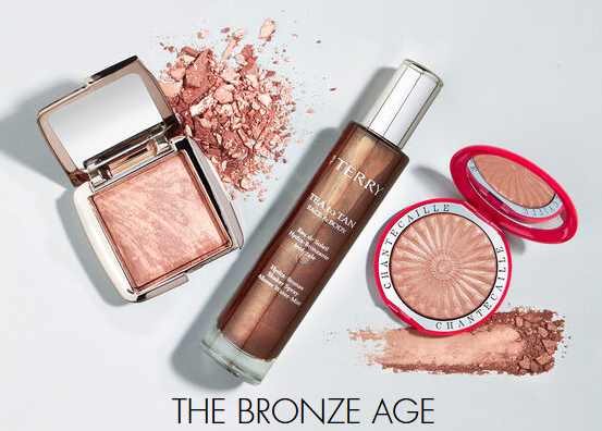 Space NK bronze Luxury Beauty Products Skincare Makeup