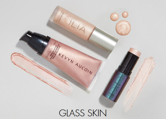 Space NK glass skin Luxury Beauty Products Skincare Makeup