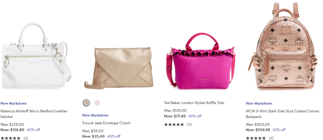 Women s Sale Handbags Wallets Nordstrom