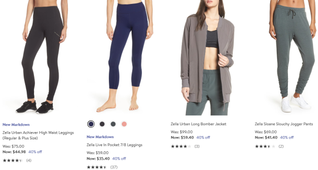 Zella Activewear for Women Nordstrom