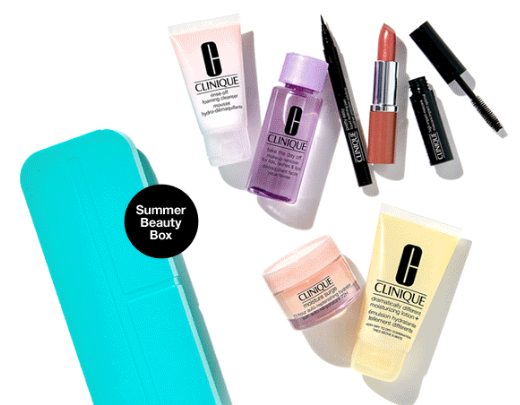 Free 7 piece gift Clinique june 2019 icangwp