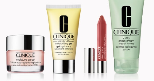 Free 7 piece gift Clinique step up icangwp