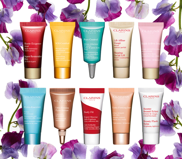 Gift with Purchase  Free Shipping and Samples   Clarins.png