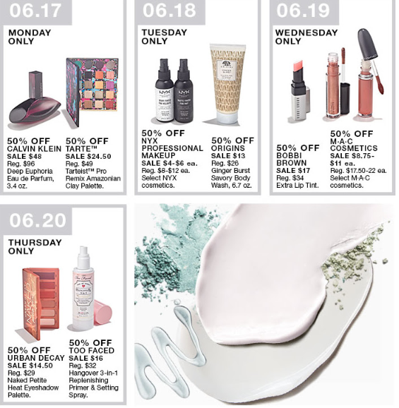macys 10 days of beauty sale 50 off beauty deals for 10 days icangwp blog
