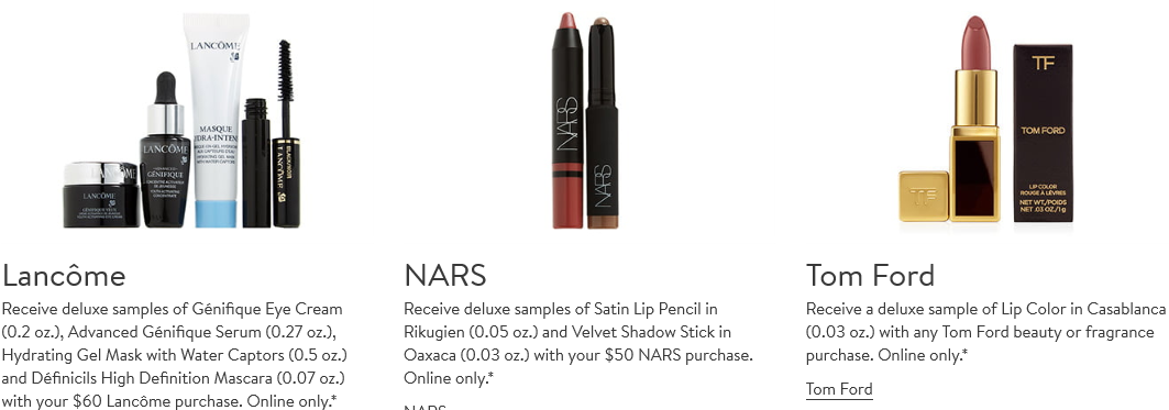 nars Gift with Purchase Nordstrom