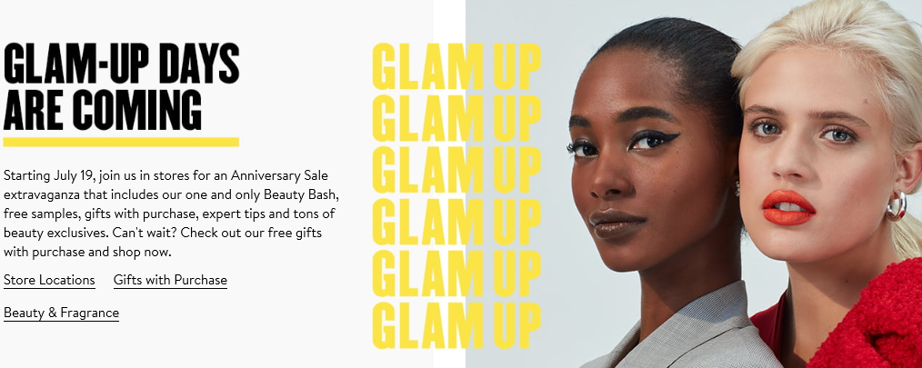 Nordstrom Anniversary Sale Beauty Events Nordstrom