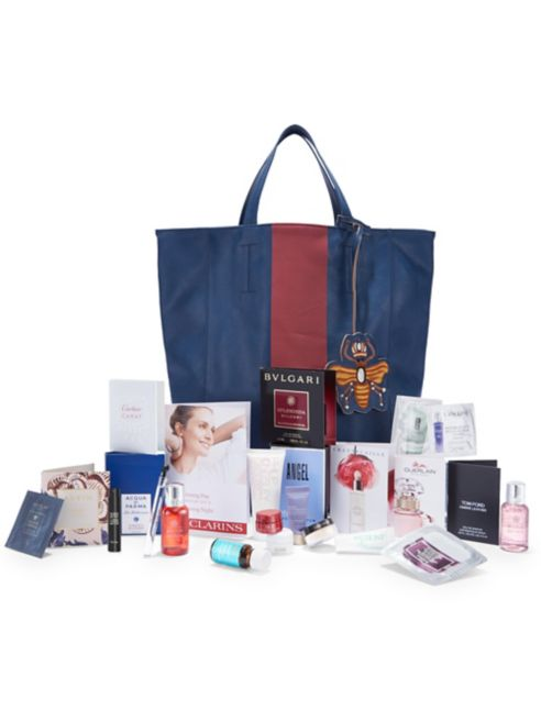 saks beauty event tote bagpng