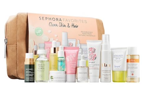 Sephora Favorites Clean Skin and Hair Set Sephora icangwp blog june 2019