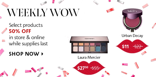 sephora weekly wow june 2019