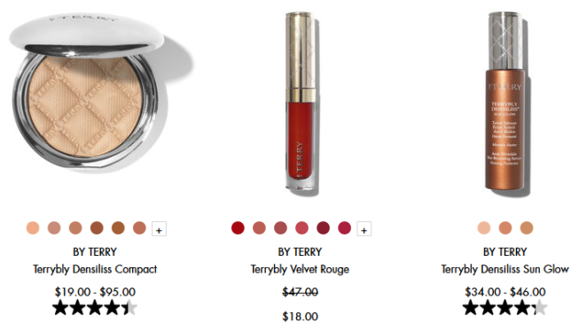 Space NK sale by terry icangwp beauty blog