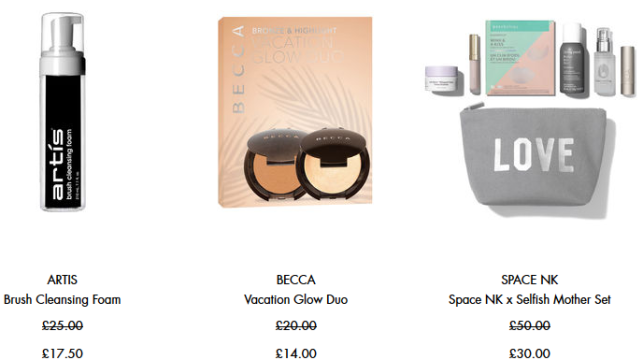 Space NK uk selfish mother sale icangwp blog