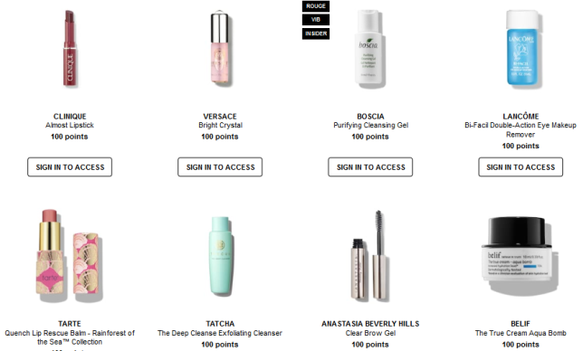 Welcome to the Beauty Insider Rewards Bazaar Sephora icangwp blog june 2019