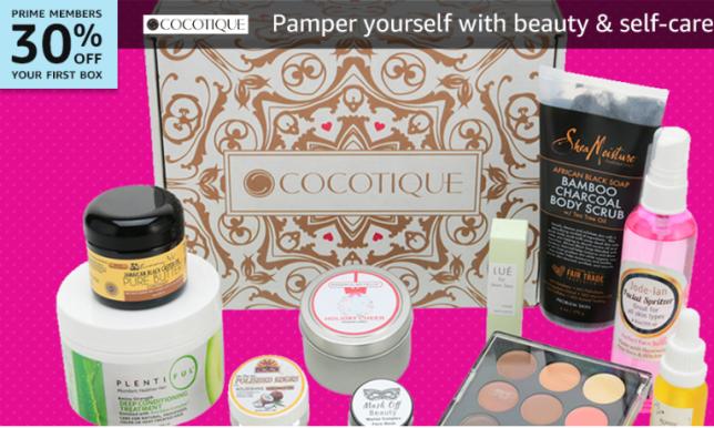 Amazon beauty Box cocoteque icangwp blog