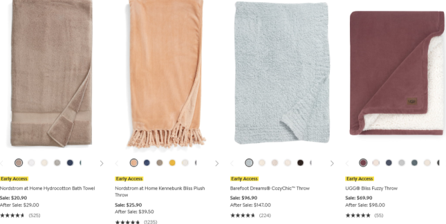 Anniversary Sale for the Home Nordstrom