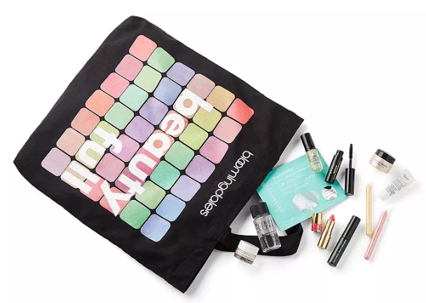 Bloomingdale s 20 piece mystery gift with any 75 beauty purchase Bloomingdales icangwp