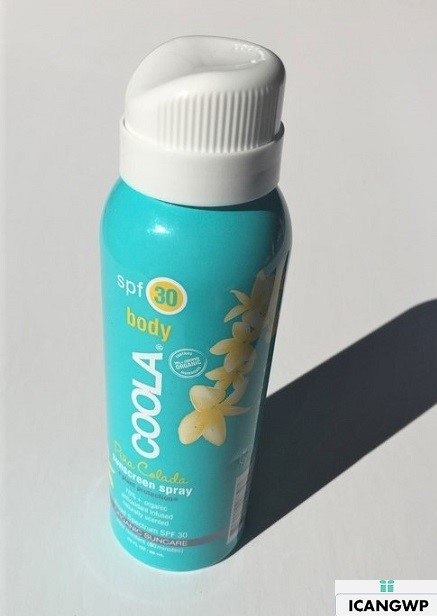 Coola Pina Colada Body Sunscreen Spray SPF30 reivew by icangwp blog