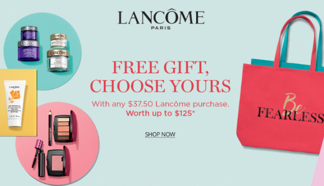 lancome gift with purchase at Dillard s icangwp blog