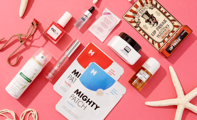 lookfantastic 10pc beauty bag icangwp blog july 2019