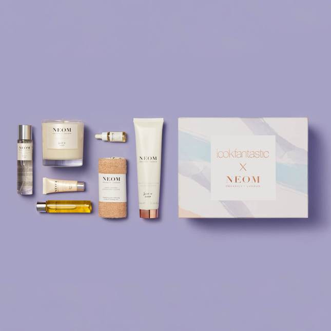 lookfantastic x NEOM Organics Limited Edition Beauty Box icangwp blog