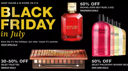 Macys black friday in july