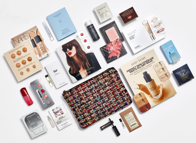 Nordstrom anniversary beauty bag 2019 19pc w 125 icangwp blog