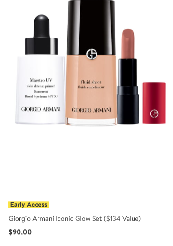 Nordstrom anniversary sale 2019 beauty exclusive giorgio armani icangwp blog