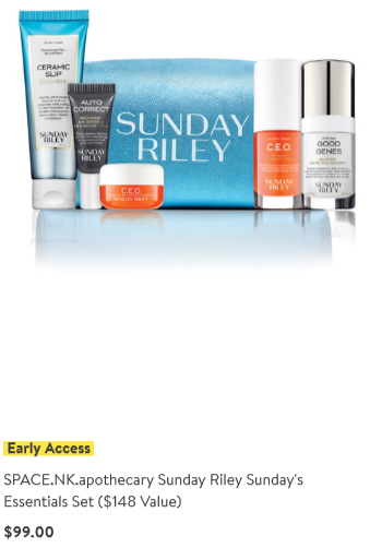 Nordstrom anniversary sale 2019 beauty exclusive sunday riley icangwp blog