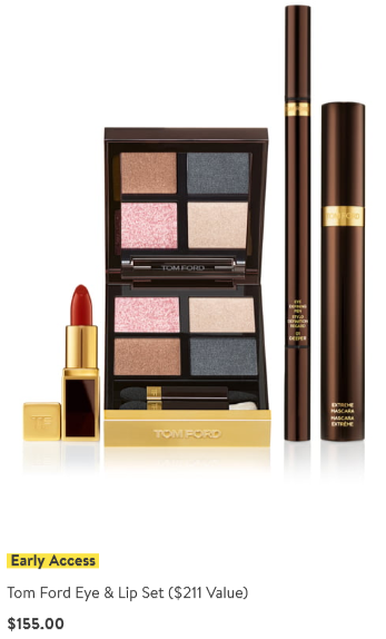 Nordstrom anniversary sale 2019 beauty exclusive tom ford icangwp blog