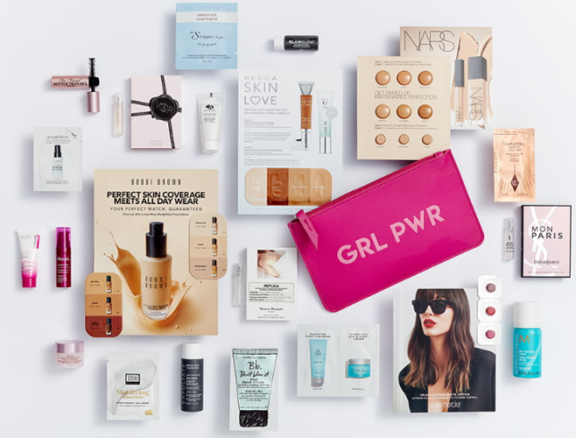 Nordstrom Gift with Purchase 22pc w 75 icangwp beauty blog july 2019