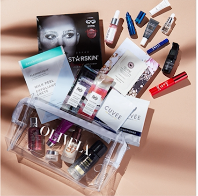 What S In Olivela Gift With Purchase Beauty Bag And Saks