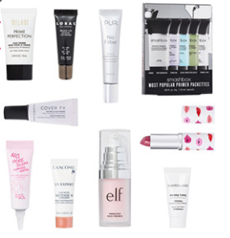 Online Only FREE Primer Sampler with any 60 online purchase Ulta Beauty