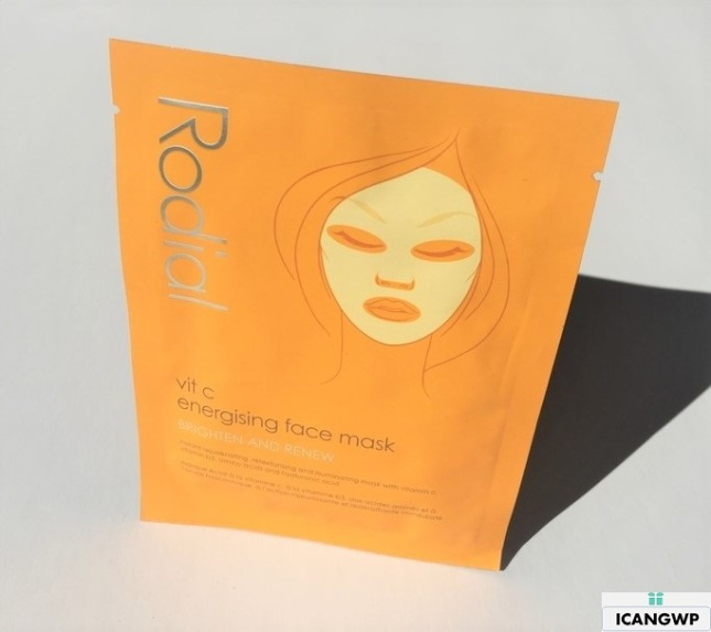 Rodial Vit C Sheet Mask review by icangwp blog