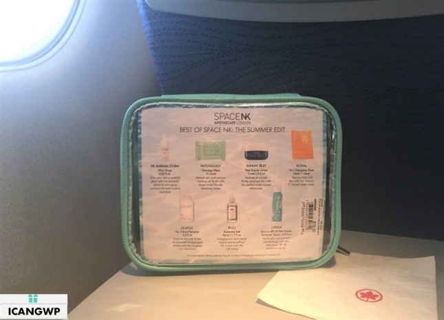 space nk travel bag review by icangwp beauty blog 2019
