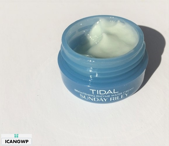 Sunday Riley Tidal Brightening Enzyme Water Cream review by icangwp beauty blog