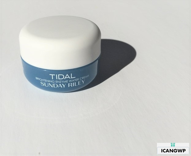 Sunday Riley Tidal Brightening Enzyme Water Cream review by icangwp blog