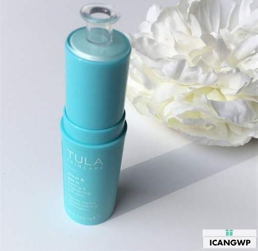 tula eye balm unboxing by icangwp beauty blog