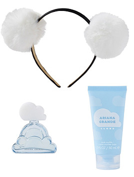Ariana Grande Online Only FREE 3 Piece Ariana Grande Cloud Gift with any 50 fragrance purchase Ulta Beauty