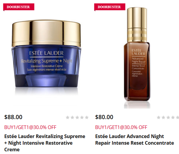 Beauty Products on Buy One Get One Stage Stores