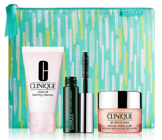 Clinique Fresh Start Set for 25.50 with any Clinique iD™ purchase a 50 value 100 Exclusive Bloomingdale s