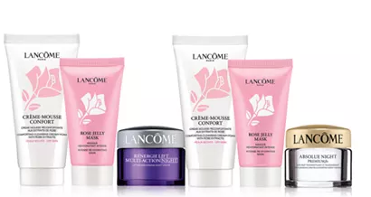 Lancôme APP ONLY SPEND MORE. GET MORE Spend 80 and receive your choice of an additional skincare trio. Total gift worth up to 200 Reviews Gifts with Purchase Beauty Macys icangwp blog