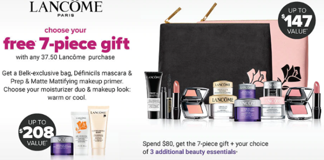 Lancôme FREE Gift with Purchase belk lancome gift with purchase september 2019 icangwp blog