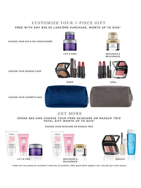lord and taylor 7pc lancome gift with purchase aug 2019 icangwp blog