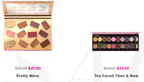 Makeup Sale Discounts Deals on our Cosmetics Too Faced icangwp