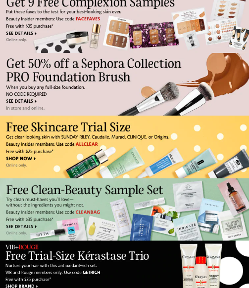 Sephora Coupons Promo Codes Coupon Codes Sephora icangwp beauty blog aug 2019
