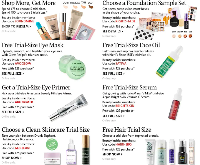HOT* Nordstrom Gift with Purchase August 2019 12-piece and