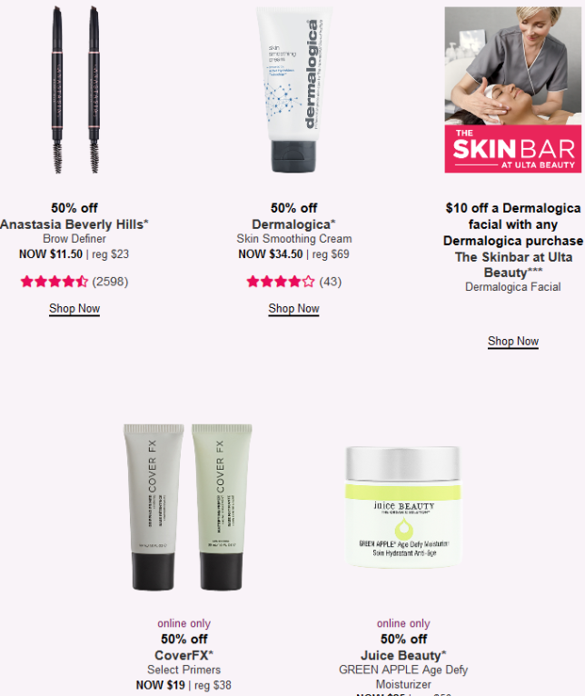 21 Days of Beauty Event Ulta Beauty day 7 icangwp blog