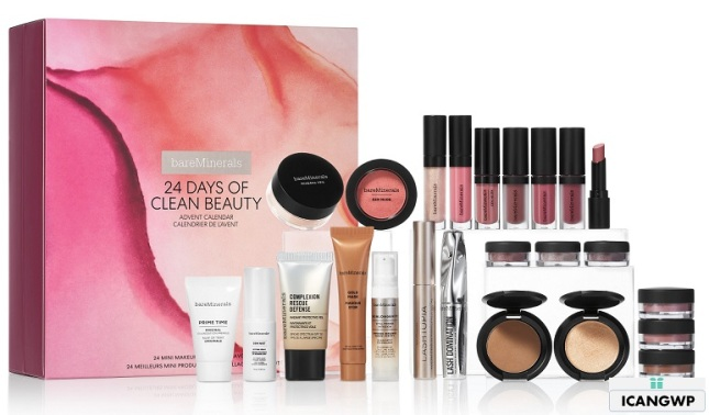 bareminerals advent calendar 2019 icangwp beauty blog