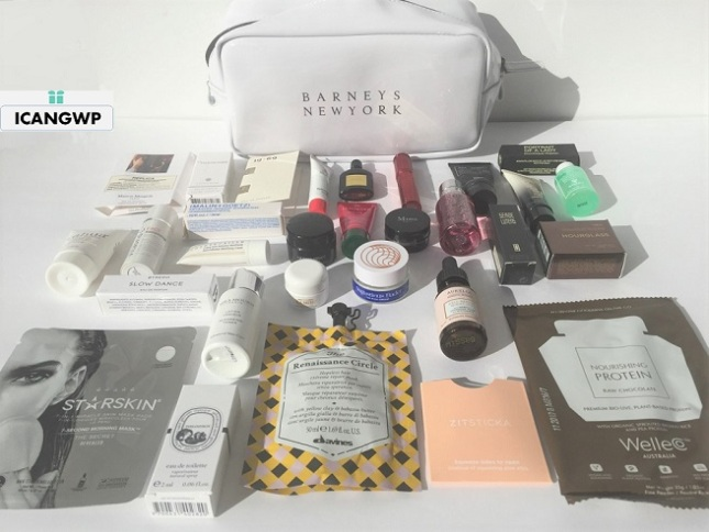 barneys love yourself gift bag 2019 unboxing icangwp beauty blog